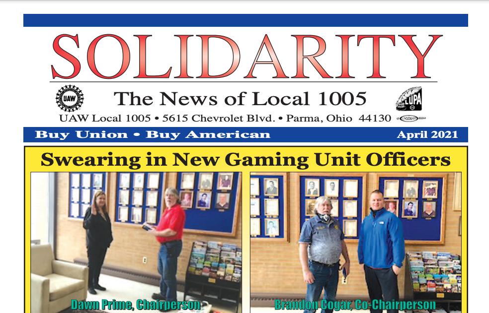 uaw local 1005 solidarity news